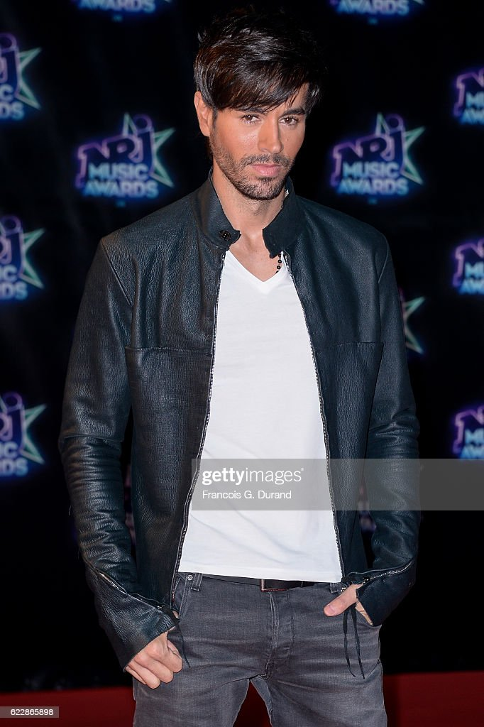 Enrique Iglesias attends the 18th NRJ Music Awards at Palais des Festivals on November 12, 2016 in Cannes, France.