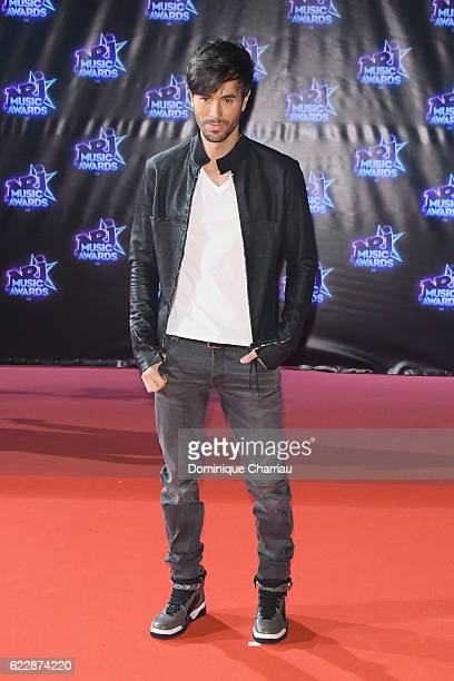 Enrique Iglesias attends the18th NRJ Music Awards Red Carpet Arrivals at Palais des Festivals on November 12 2016 in Cannes France