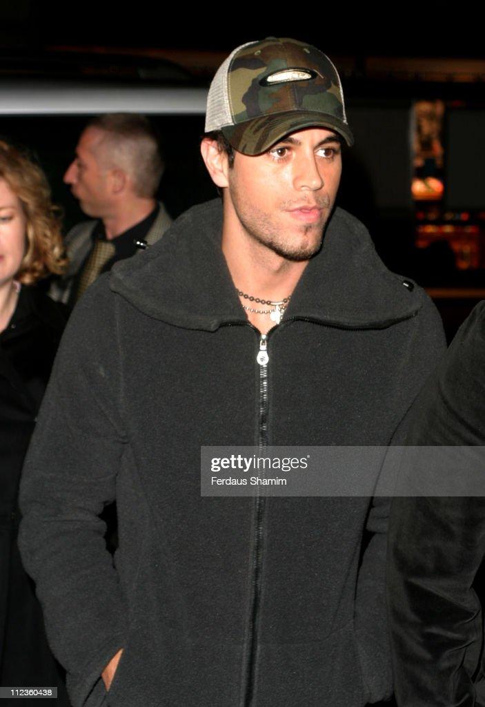 Enrique Iglesias And Christina Aguilera