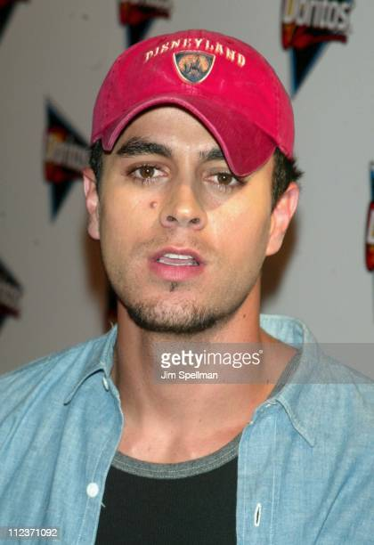 Enrique Iglesias during Doritos Salsa Launch with Enrique Iglesias at Tribeca Rooftop in New York City New York United States