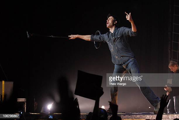 Enrique Iglesias during Enrique Iglesias in Concert at Hammerstein Ballroom November 30 2006 at Hammerstein Ballroom in New York City New York United...