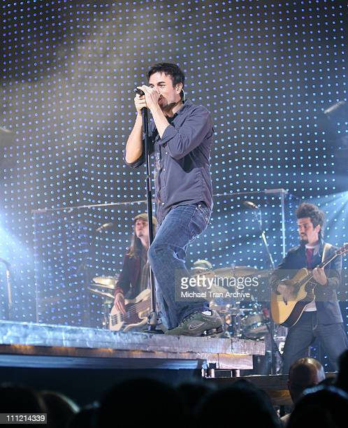 Enrique Iglesias during Enrique Iglesias in Concert at the Wiltern LG December 7 2006 at The Wiltern LG in Los Angeles California United States