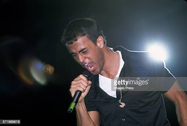Enrique Iglesias in concert at Madison Square Garden circa 1999 in New York City