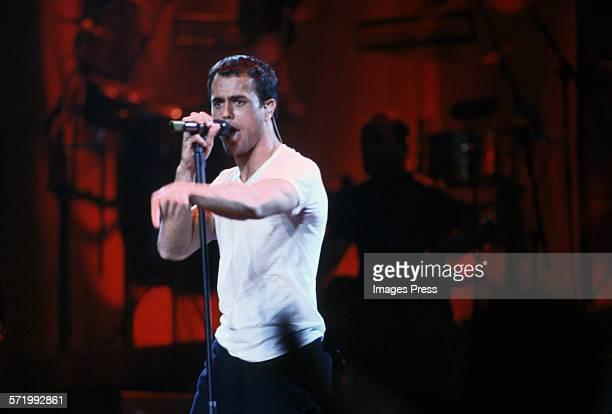 Enrique Iglesias in concert at Madison Square Garden circa 1999 in New York City