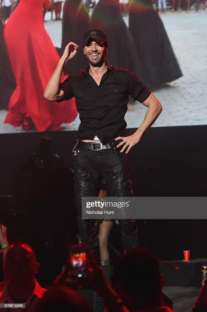 Enrique Iglesias performs at 103.5 KTU's KTUphoria on June 16, 2018 in Wantagh City.