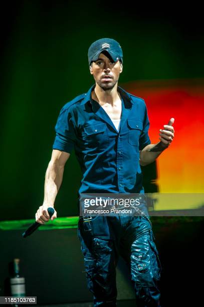 Enrique Iglesias Performs at Mediolanum Forum on November 02, 2019 in Milan, Italy.