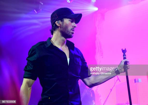 Enrique Iglesias performs at the Chopard Secret Night during the 71st annual Cannes Film Festival at Chateau de la Croix des Gardes on May 11, 2018...