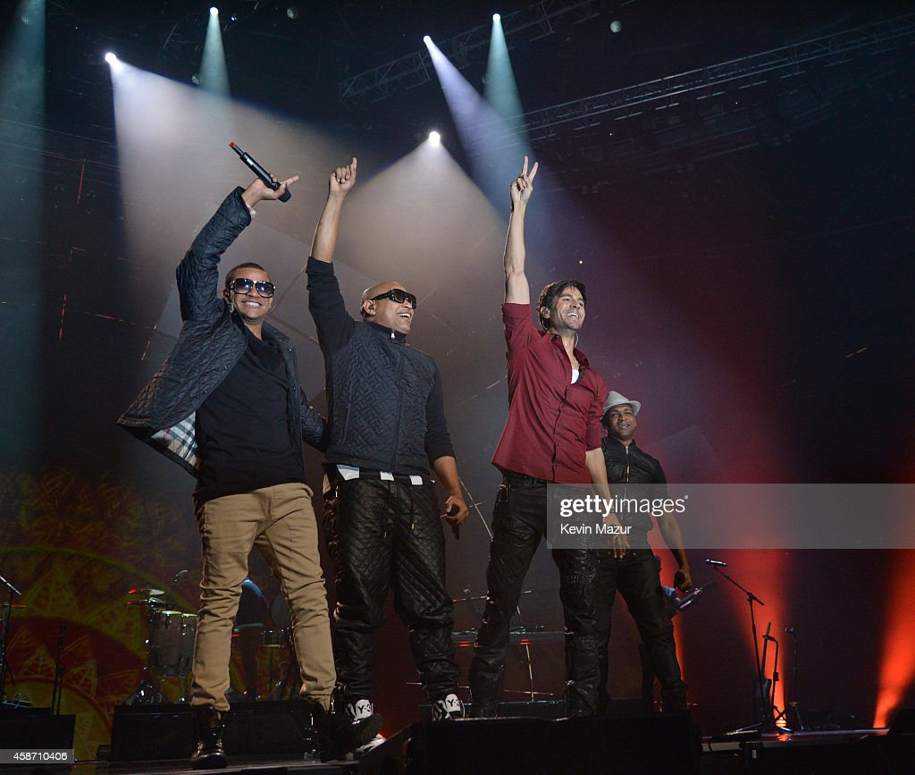 Enrique Iglesias performs at the MTV EMA's 2014 at The Hydro on November 9, 2014 in Glasgow, Scotland.