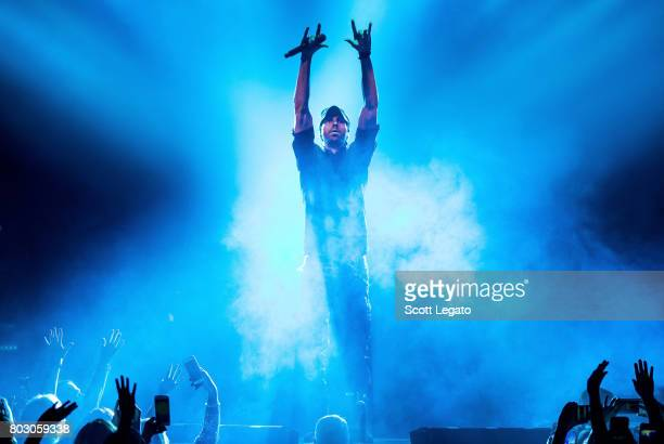 Enrique Iglesias performs at The Palace of Auburn Hills on June 28 2017 in Auburn Hills Michigan