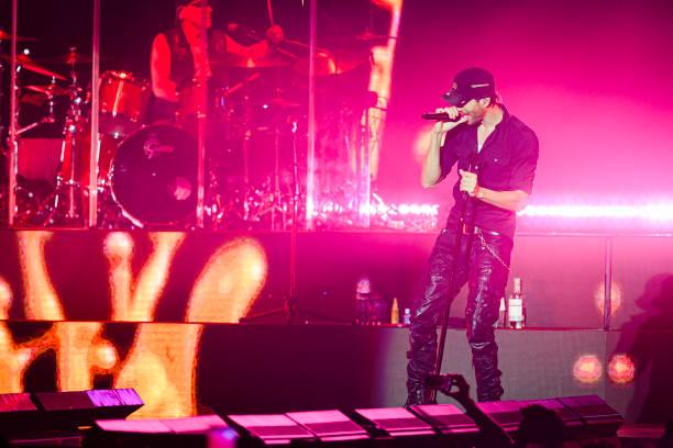 ESP: Enrique Iglesias Concert In Madrid