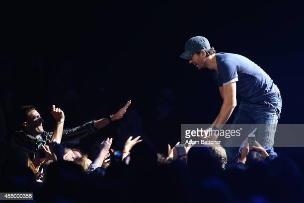 Enrique Iglesias performs onstage during 101.3 KDWB's Jingle Ball 2013, at Xcel Energy Center on December 10, 2013 in St. Paul, Minnesota.