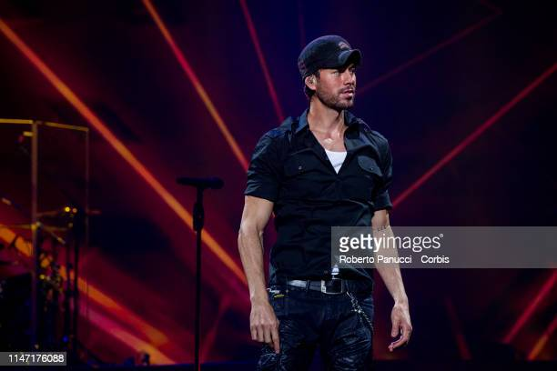 Enrique Iglesias performss in concert on May 5, 2019 in Rome, Italy.