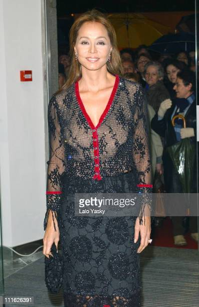 Enrique Iglesias's mother Isabel Preysler at the opening of a new boutique Porcelanosa in Madrid