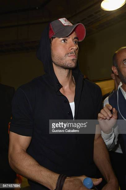 Enrique Inglesias attends the Univision's 13th Edition Of Premios Juventud Youth Awards at Bank United Center on July 14 2016 in Miami Florida