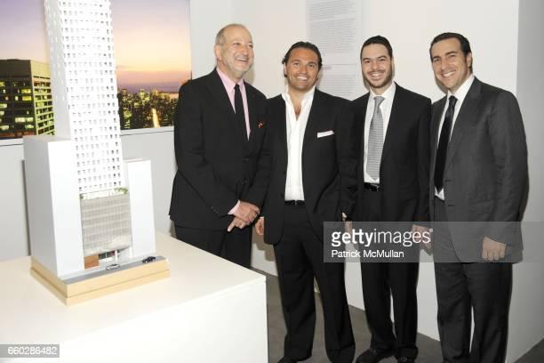 Enrique Norten, Solly Assa, Sury Cattan and Simon Masri attend Preview Cocktail Party for the Launch of CASSA Designed by ENRIQUE NORTEN at CASSA...