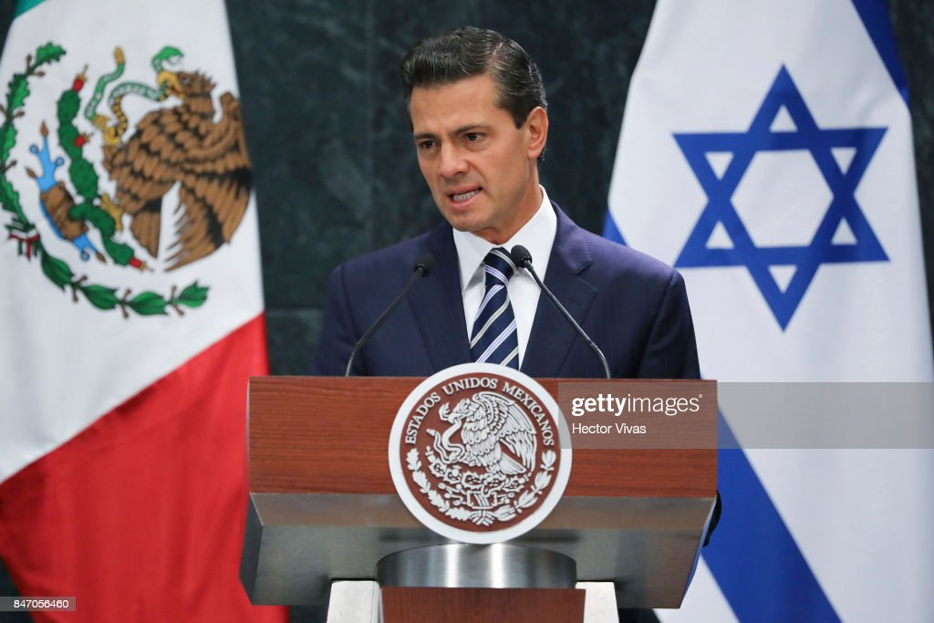 Israeli Prime Minister Benjamin Netanyahu Visits Mexico City