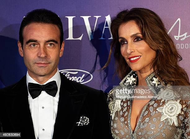 Enrique Ponce and Paloma Cuevas attend Arts, Sciences and Sports Telva Awards 2015 at Palau de Les Arts Reina Sofia on October 15, 2015 in Valencia,...