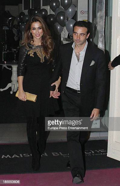 Enrique Ponce and Paloma Cuevas attend Margarita Vargas' 30th birthday party on October 21, 2013 in Madrid, Spain.