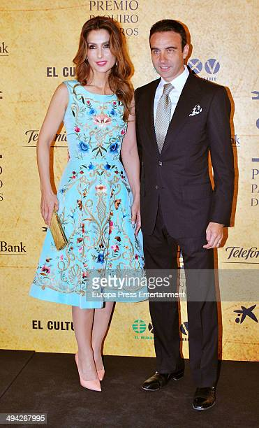 Enrique Ponce and Paloma Cuevas attend 'Paquiro Bullfighting Awards 2014' at Ritz Hotel on May 28 2014 in Madrid Spain