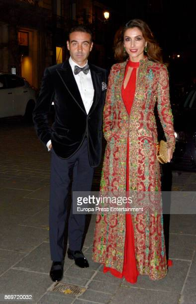 Enrique Ponce and Paloma Cuevas attend the '20th anniversary gala' photocall at Royal Theatre on November 2 2017 in Madrid Spain