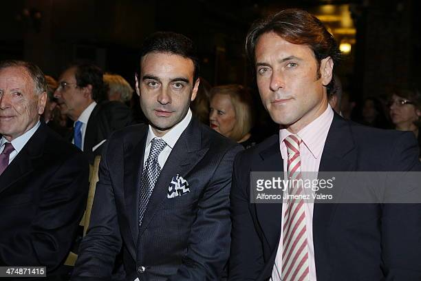 Enrique Ponce at Bullfight Awards 'La Pesquera' 2014 on February 25 2014 in Madrid Spain