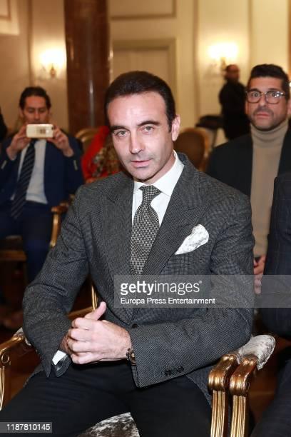 Enrique Ponce attends 'Capote de las Artes 2019' awards at Hotel Wellington on November 14 2019 in Madrid Spain