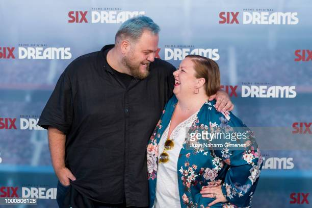 Enrique Ramirez and Itziar Castro attend 'Six Dreams' premiere at Capitol Cinema on July 17 2018 in Madrid Spain