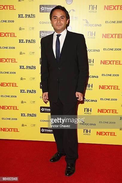 Enrique Rubio attends the Muestra de Cine Español EsCine 2nd Edition by Nextel at Cinepolis Diana on November 26 2009 in Mexico City Mexico