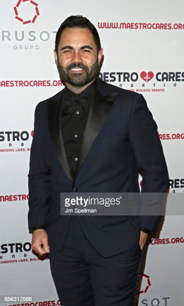 Enrique Santos attends the Maestro Cares Foundation's Fourth Annual Changing Lives/Building Dreams Gala at Cipriani Wall Street on March 21 2017 in...