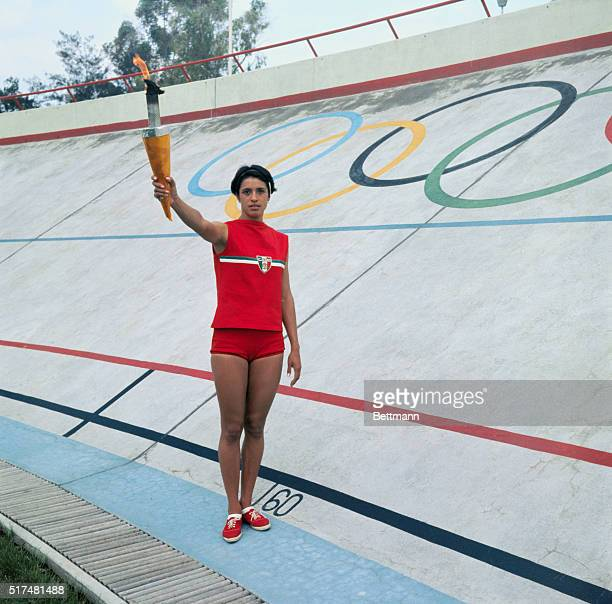 Enriqueta Basilio will be the first woman in history to carry the Olympic torch on its last leg and ignite the Olympic flame for the 1968 October...
