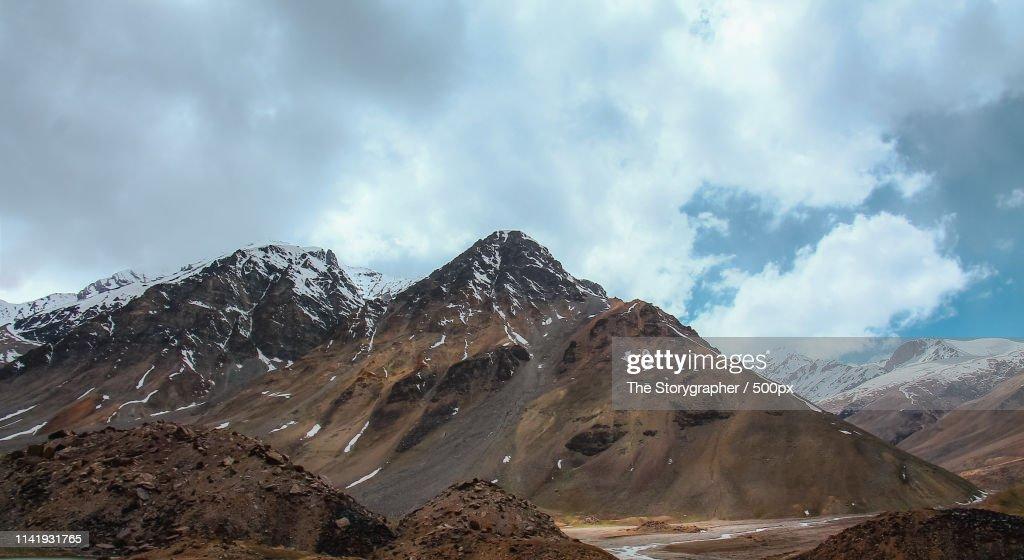 Enroute - Manali Leh Highway : Stock Photo