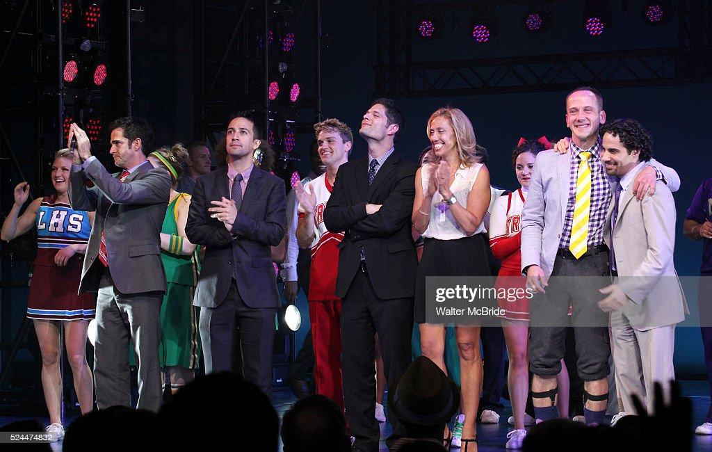 USA: 'Bring it On The Musical' Curtain Call : Fotografía de noticias
