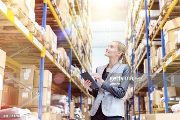 Garantizar las entregas en el almacén de distribución