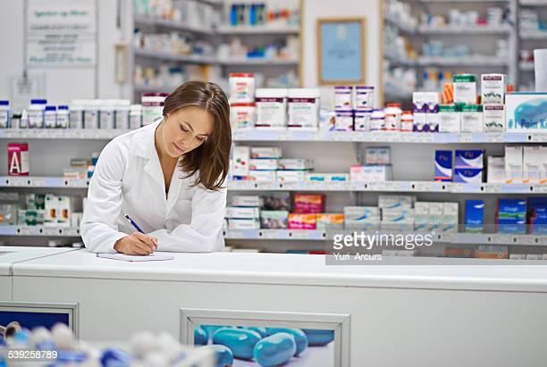 Certificando-se de que cada receita médica está correcto