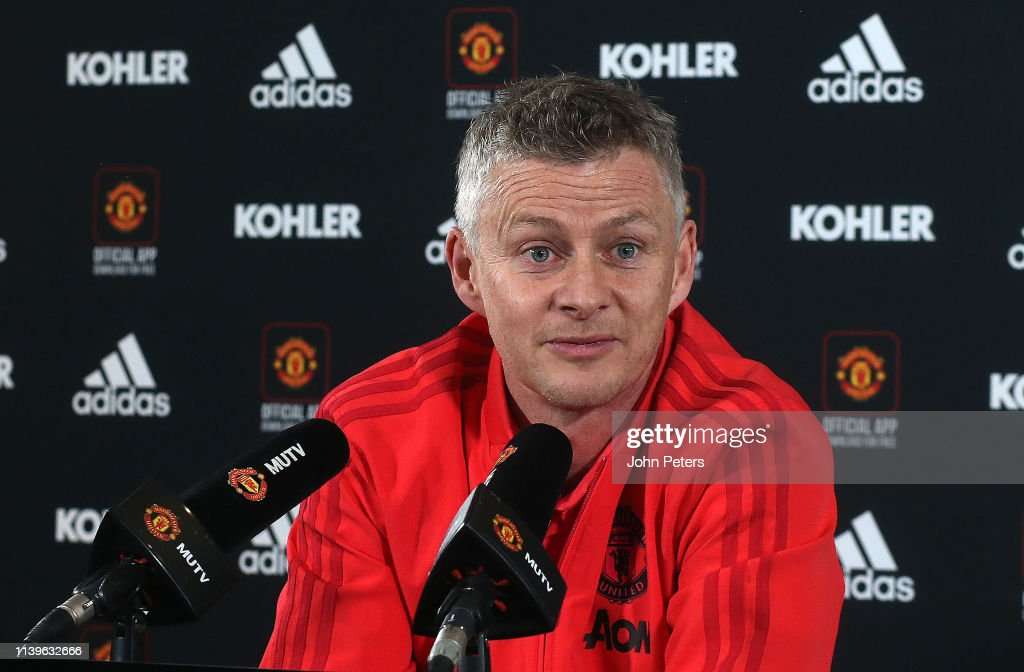 GBR: Manchester United Press Conference
