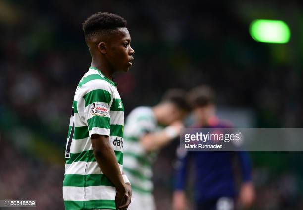 <<enter caption here>> at Celtic Park on May 19 2019 in Glasgow Scotland