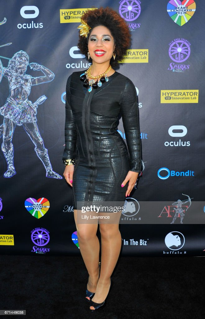 <<enter caption here>> at Laemmle's Ahrya Fine Arts Theatre on April 20, 2017 in Beverly Hills, California.