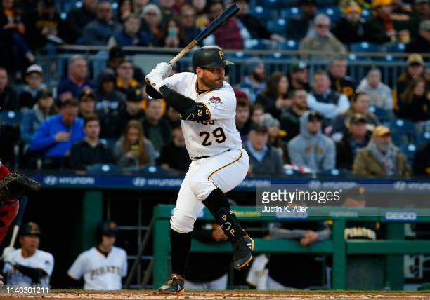 <<enter caption here>> at PNC Park on April 3 2019 in Pittsburgh Pennsylvania