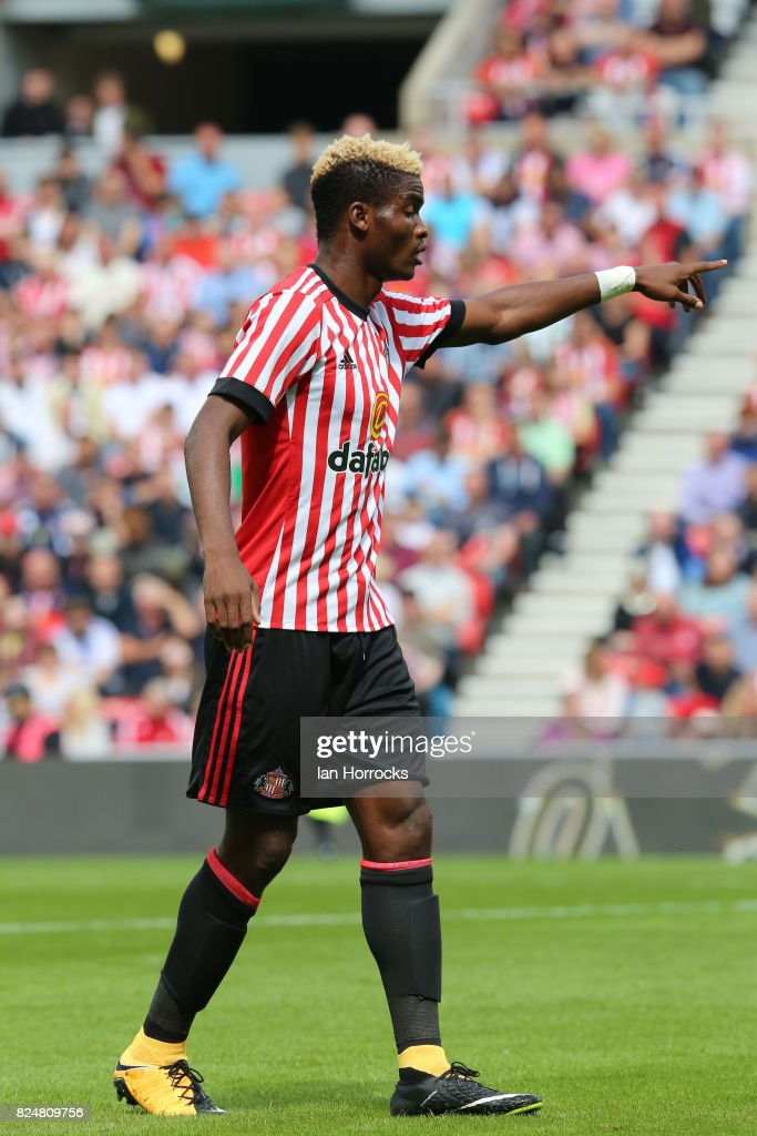 <<enter caption here>> at Stadium of Light on July 29, 2017 in Sunderland, England.