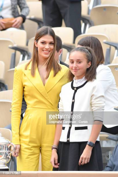 Enter caption here>> attend the 2019 French Tennis Open - Day Fourteen at Roland Garros on June 08, 2019 in Paris, France.