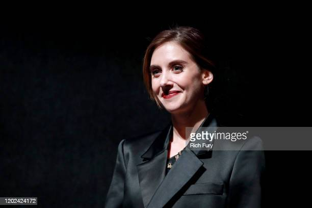 <<enter caption here>> attends the 2020 Sundance Film Festival Horse Girl Premiere at The Ray on January 27 2020 in Park City Utah