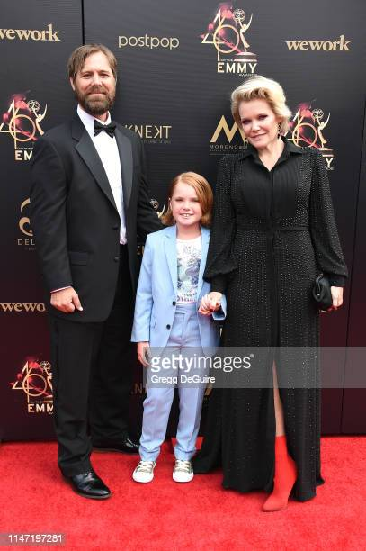 <<enter caption here>> attends the 46th annual Daytime Emmy Awards at Pasadena Civic Center on May 05 2019 in Pasadena California
