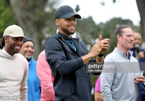 Enter caption here>> attends The Workday Charity Classic, hosted by Stephen and Ayesha Curry's Eat. Learn. Play. And Workday, at Franklin Elementary...