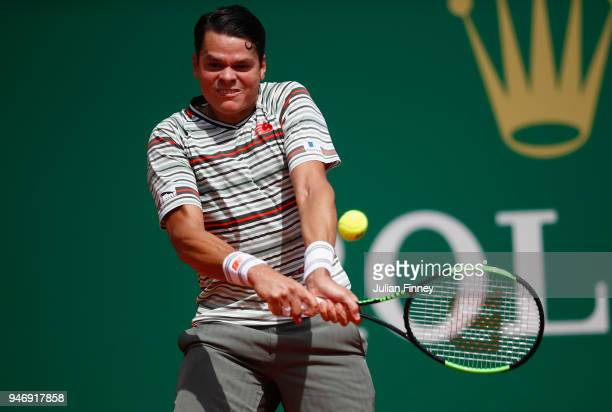 <enter caption here> during day two of ATP Masters Series Monte Carlo Rolex Masters at MonteCarlo Sporting Club on April 16 2018 in MonteCarlo Monaco
