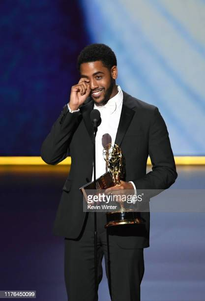 <<enter caption here>> onstage during the 71st Emmy Awards at Microsoft Theater on September 22 2019 in Los Angeles California