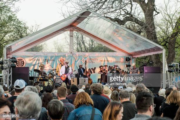 <<enter caption here>> perform live on stage at Ray Benson's 67th birthday party concert benefiting Health Alliance for Austin Musicians during SXSW...