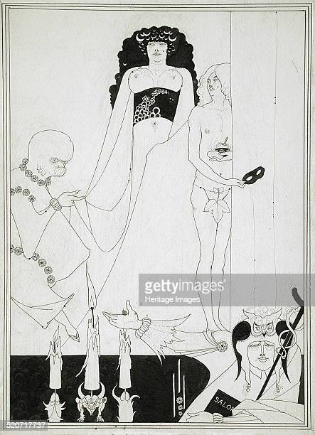 Enter Herodias Illustration for Salome by Oscar Wilde Found in the collection of Los Angeles County Museum of Art