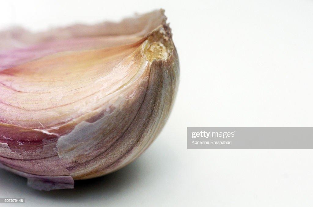 Enter the Garlic : Stock Photo