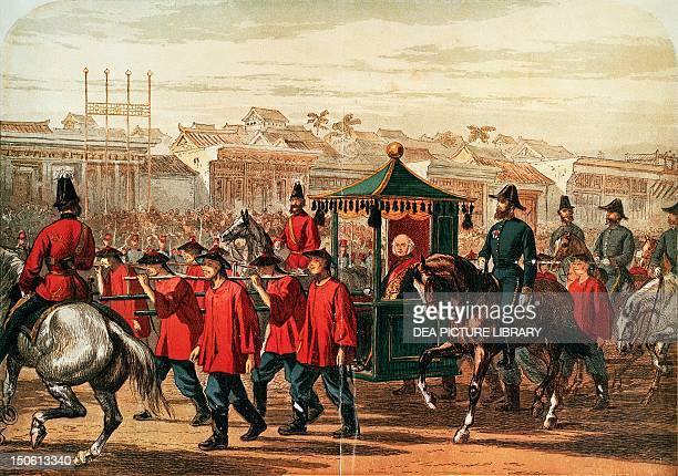 Entering Beijing by James Bruce Earl of Elgin viceroy and governor of India China 19th century