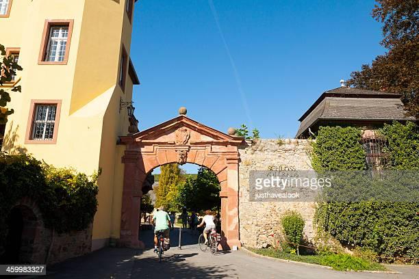 Entering Castle Schloss Vollrads